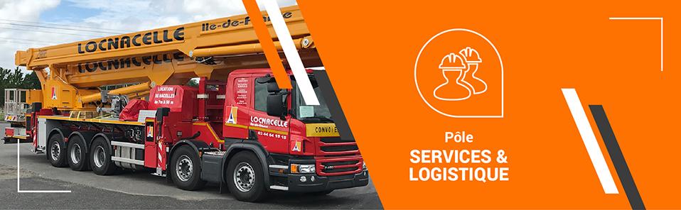 Agence FOSELEV - Services & Logistique - Elevation de personnel Locnacelle
